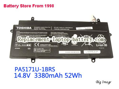 TOSHIBA CB35-A3120 Chromebook Battery 3380mAh Black