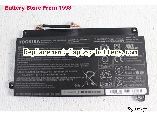 TOSHIBA Satellite Fusion 15 L55W-C5259 Battery 3860mAh, 45Wh  Black