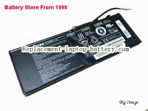TOSHIBA P000627450 Battery 3684mAh, 28Wh  Black