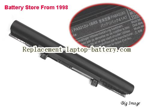 TOSHIBA Tecra A50-C-16E Battery 2800mAh, 45Wh  Black