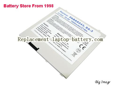 TOSHIBA Tablet PC AT100 Battery 1900mAh White