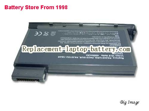 TOSHIBA TECRA 8000 Battery 4400mAh Grey