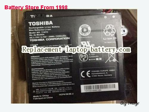 TOSHIBA T101C Battery 5200mAh, 20Wh  Black