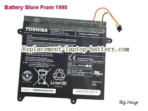 TOSHIBA Z10T-A-13V Battery 3600mAh, 43Wh  Black