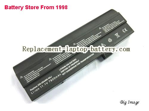 UNIWILL 3S4400-S1P3-02 Battery 6600mAh Black