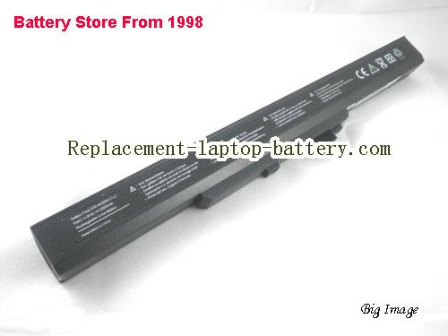 HASEE W231S Battery 2200mAh Black