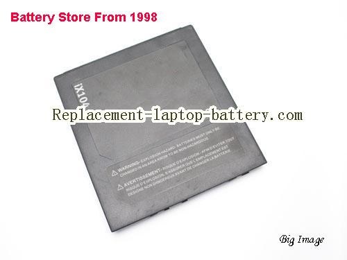 XPLORE iX104 tablet PC Battery 9250mAh, 68.45Wh  Black