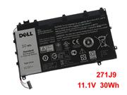 Genuine DELL YX81V Battery Li-Polymer 11.1V 30Wh Black