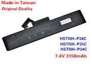 Genuine HP HSTNN-P34C Battery Li-ion 7.4V 3150mAh Black