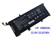 Genuine HP Envy X360 15-AQ101NO Battery Li-ion 15.4V 3470mAh, 55.67Wh  Black