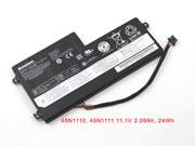 Genuine LENOVO X230S Battery Li-Polymer 11.1V 2090mAh, 24Wh  Black