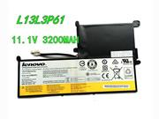 Genuine LENOVO L13L3P61 Battery Li-ion 11.1V 3200mAh, 34.8Wh  Black