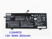 Genuine LENOVO Ideapad 710S Plus Battery Li-ion 7.5V 6135mAh, 46Wh  Black