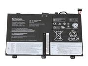 Genuine Lenovo SB10F46438  00HW000 Battery For ThinkPad Yoga 14, Li-ion, 8-Cells