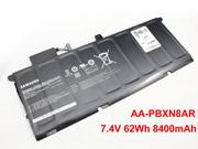 Genuine SAMSUNG 900X4 Battery Li-Polymer 7.4V 8400mAh, 62Wh  Black