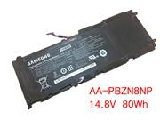 Genuine SAMSUNG NP700Z5C Battery Li-Polymer 14.8V 80Wh Black