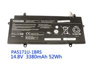 Genuine TOSHIBA CB35-A3120 Chromebook Battery Li-ion 14.8V 3380mAh Black