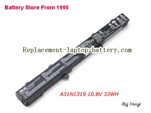 image 1 for Battery for ASUS F551MAV Laptop, buy ASUS F551MAV laptop battery here