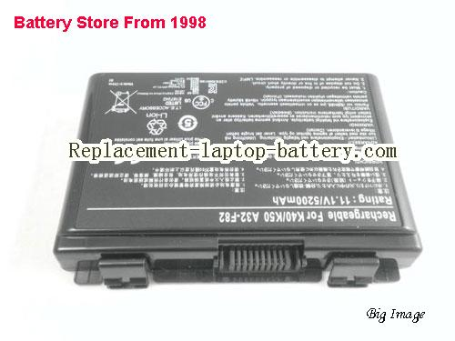 image 5 for Battery for ASUS K50IE Laptop, buy ASUS K50IE laptop battery here