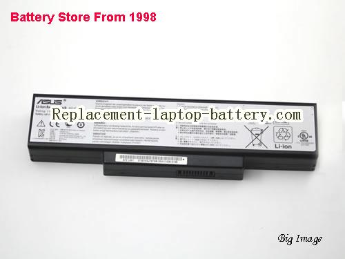 image 5 for Battery for ASUS K73SV-TY291V Laptop, buy ASUS K73SV-TY291V laptop battery here