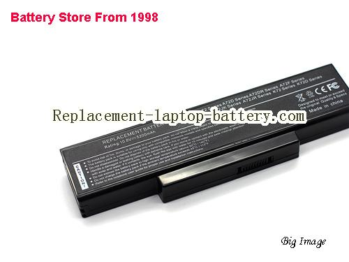 image 2 for Battery for ASUS K72K Laptop, buy ASUS K72K laptop battery here