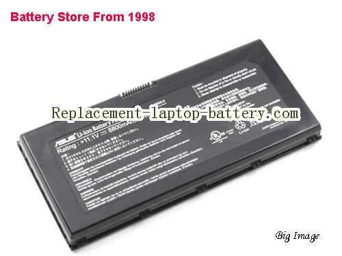 image 1 for Battery for ASUS W90VP Laptop, buy ASUS W90VP laptop battery here