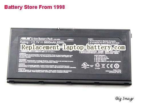 image 3 for Battery for ASUS W90VP Laptop, buy ASUS W90VP laptop battery here