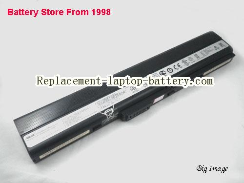 image 1 for New Genuine Asus A42-K52 8cells Battery For ASUS  K52 K52f K52jr Laptop 63WH 14.4V