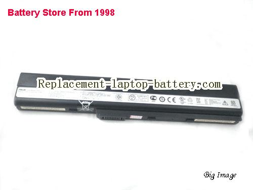 image 5 for New Genuine Asus A42-K52 8cells Battery For ASUS  K52 K52f K52jr Laptop 63WH 14.4V