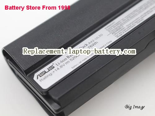 image 5 for Battery for ASUS UL50Vt-XX010x Laptop, buy ASUS UL50Vt-XX010x laptop battery here
