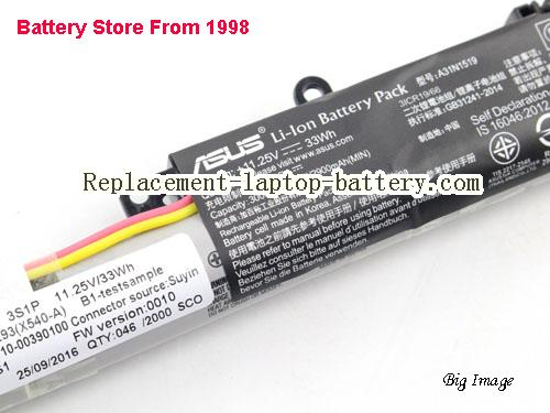 image 2 for Battery for ASUS X540SC-1C Laptop, buy ASUS X540SC-1C laptop battery here