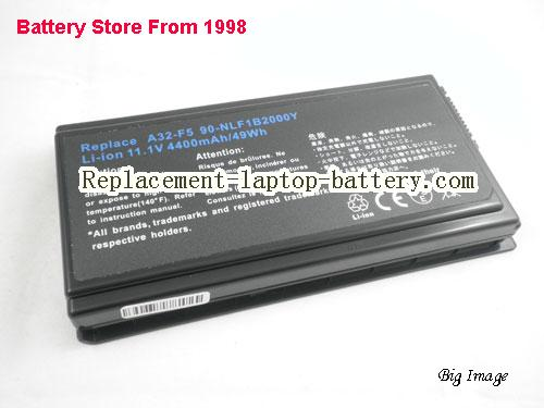 image 1 for A32-F5 Replacement  Battery For ASUS F5 F5N F5R X50R X50 Laptop