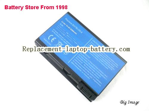 image 1 for ACER BATBL50L8H Replacement Laptop Battery for Acer Aspire 3100 Aspire 3690 5610 5630 9800 Series TravelMate 4200 Series