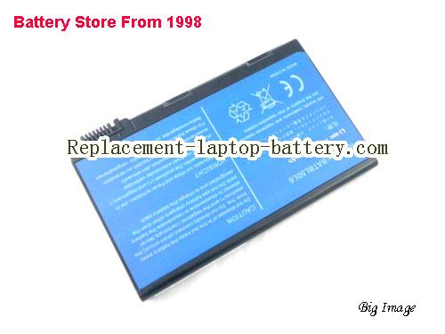 image 2 for ACER BATBL50L8H Replacement Laptop Battery for Acer Aspire 3100 Aspire 3690 5610 5630 9800 Series TravelMate 4200 Series