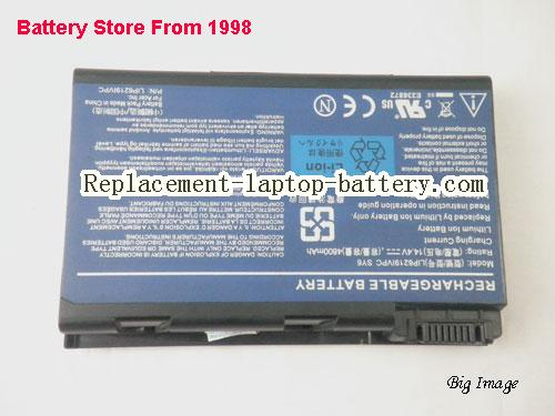 image 5 for ACER LIP6219IVPC,LIP6219IVPC SY6,BT.00605.025 FOR Acer Travelmate 6410 Series Laptop battery, 4800mah, 8cells