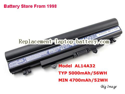 image 1 for Battery for ACER E5-571 Laptop, buy ACER E5-571 laptop battery here