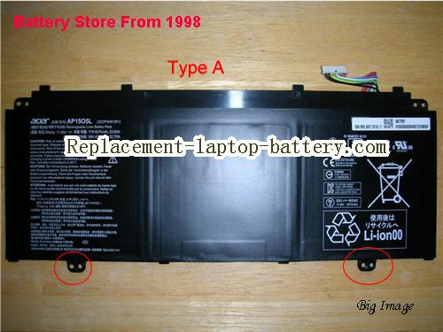 image 1 for Battery for ACER Chromebook R13 CB5312T Laptop, buy ACER Chromebook R13 CB5312T laptop battery here