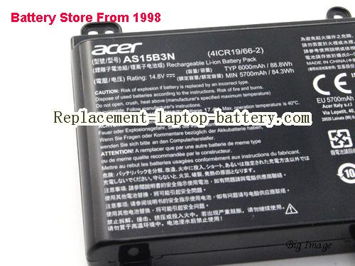image 4 for Battery for ACER PREDATOR 17 X GX-792-74BW Laptop, buy ACER PREDATOR 17 X GX-792-74BW laptop battery here