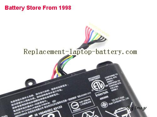image 5 for Battery for ACER PREDATOR 17 X GX-792-74BW Laptop, buy ACER PREDATOR 17 X GX-792-74BW laptop battery here