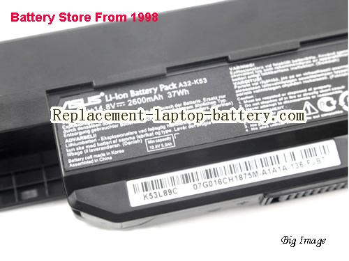 image 2 for Battery for ASUS K54 Series Laptop, buy ASUS K54 Series laptop battery here