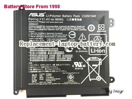 image 2 for Battery for ASUS ZenBook NX500JK Laptop, buy ASUS ZenBook NX500JK laptop battery here