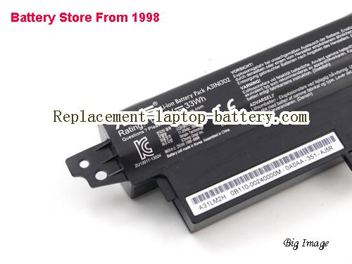 image 3 for Battery for ASUS F200MA Laptop, buy ASUS F200MA laptop battery here