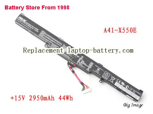image 1 for Battery for ASUS F550ZE Laptop, buy ASUS F550ZE laptop battery here