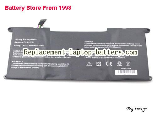 image 2 for Battery for ASUS UX21esh52 Laptop, buy ASUS UX21esh52 laptop battery here