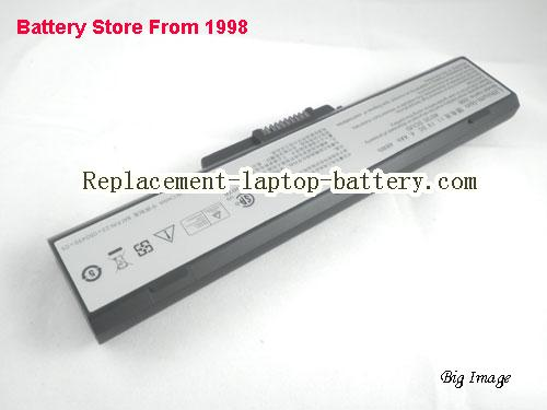 image 3 for Genuine Averatec 2200 #8092 SCUD, 2200 #8735 SCUD, 23+050490+01, H12 2200 2225 2260 AV2260 2300 Series Battery 4400mAh 6-Cell Black