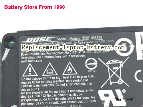 image 4 for 088789, BOSE 088789 Battery In USA