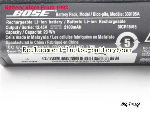 image 2 for Battery for BOSE Soundlink II Laptop, buy BOSE Soundlink II laptop battery here