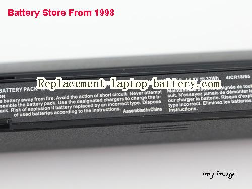 image 2 for Battery for CLEVO W950AU Laptop, buy CLEVO W950AU laptop battery here