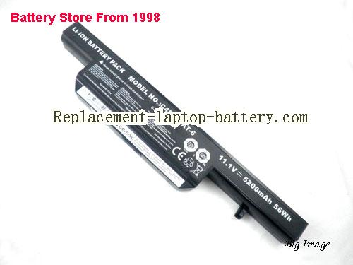 image 1 for Battery for CLEVO W255BW Laptop, buy CLEVO W255BW laptop battery here
