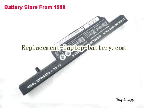 image 2 for Battery for CLEVO W258ES Laptop, buy CLEVO W258ES laptop battery here